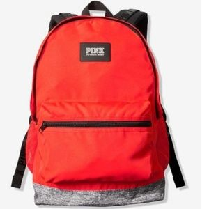 NWT VS Pink CAMPUS BACKPACK Candy Coral